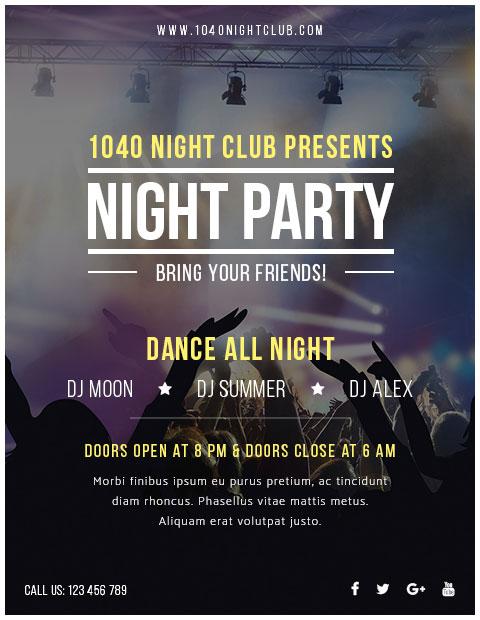 NightCLub - Event WordPress Theme